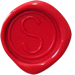 Logo stempel vierkant